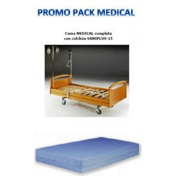 PACK MEDICAL COLCHÓN Y CAMA...