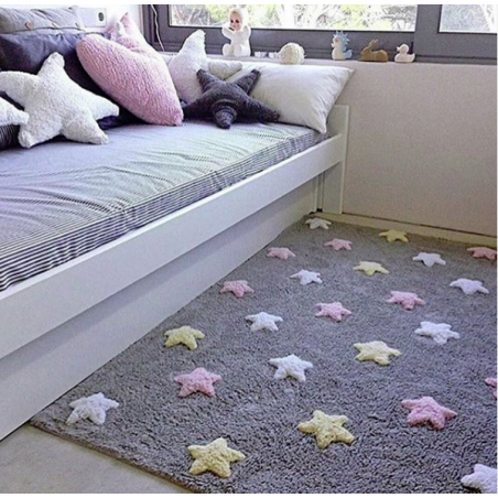 ALFOMBRA TRICOLOR STARS